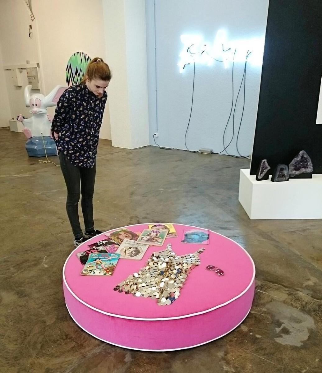 #atelier #collaboration #Ms. #artist #sylviefleury #artcontemporain #galerie #karmainternational #zürich