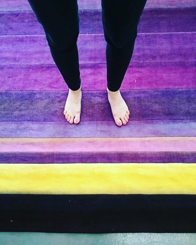 #atelier #courtepointière #tapis #rug #carpet #textile #handmade #lin #linen #teinturevegetale #colors #tieanddye