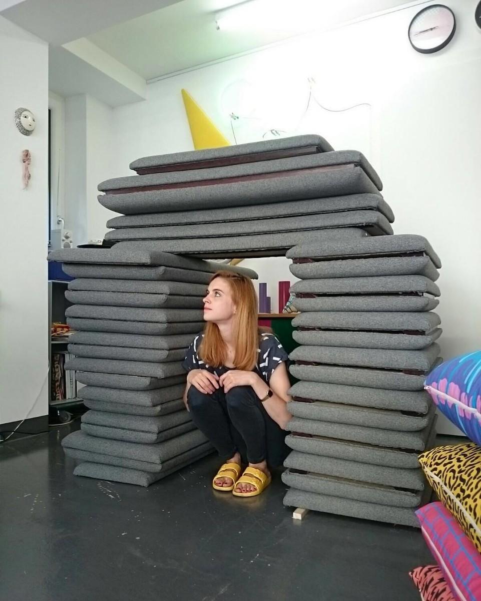 #workinprogress #atelier #tapissier #upholstery #renovation #cafe #restaurant #brasserie @lecygne_brasserie #lausanne #realisation @ateliervladimirboson