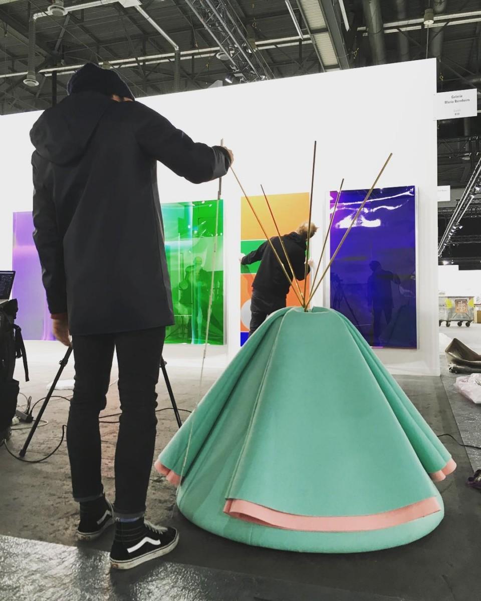 #workinprogress #atelier @ateliervladimirboson #editeurdart #arteditor #artist #denissavary @galeriemariabernheim @artgeneve #2018