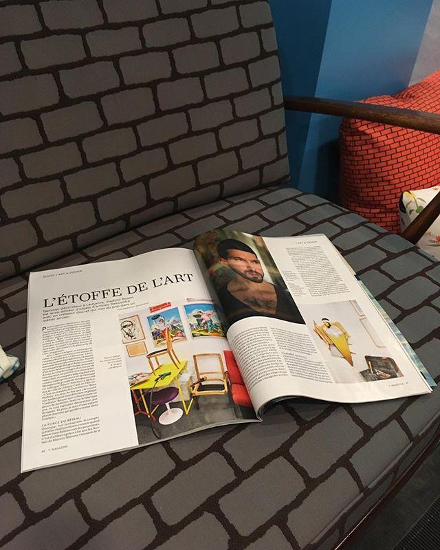 Le Temps – T Magazine / Mai 2018 @ateliervladimirboson