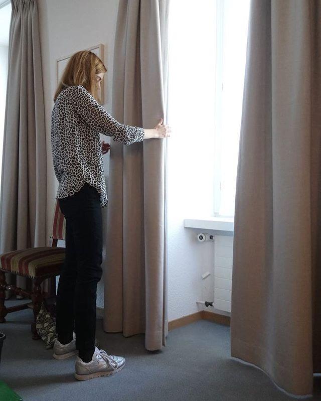 #livraison #communedepalinges#épalinges #rideaux #curtains #courtepointière #textile #relax @kvadrattextiles
