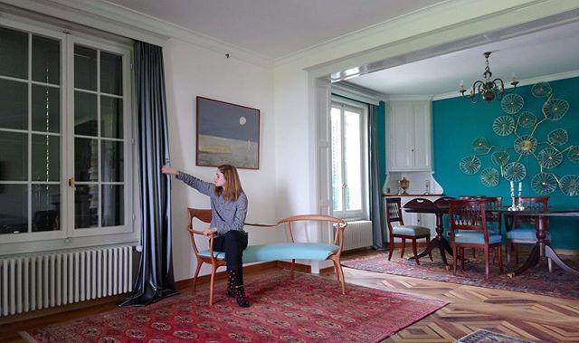 🛸🛸🛸 #posederideaux #rideaux #curtains #courtepointière #textile #sudden @kvadrattextiles